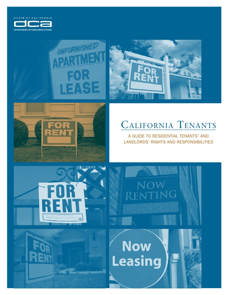 California Tenants - A guide to Residential Tenants' and ...